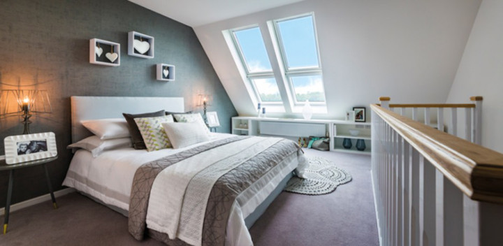Countryside new build home - Bedroom