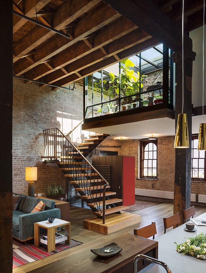 My Dream Home! - Tribeca Loft, Location: New York NY, Architect: Andrew Franz Architect. Sourced on Pinterest.