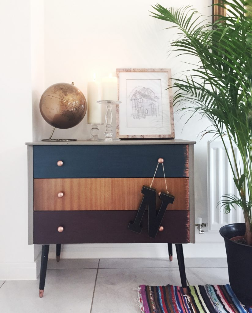 upcycling chest of drawers