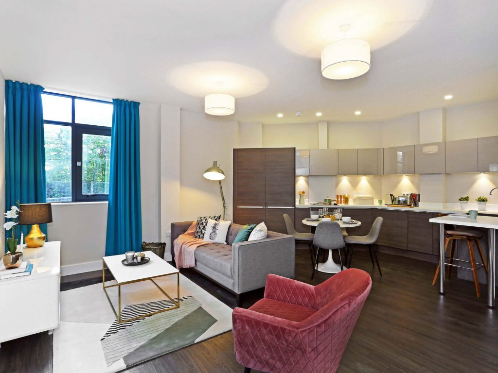 show home design, home staging, Natalie holden interiors, open plan apartment, Art Deco inspired apartment, modern apartment, Liverpool interior designer, Cheshire interior designer, Lancashire interior designer