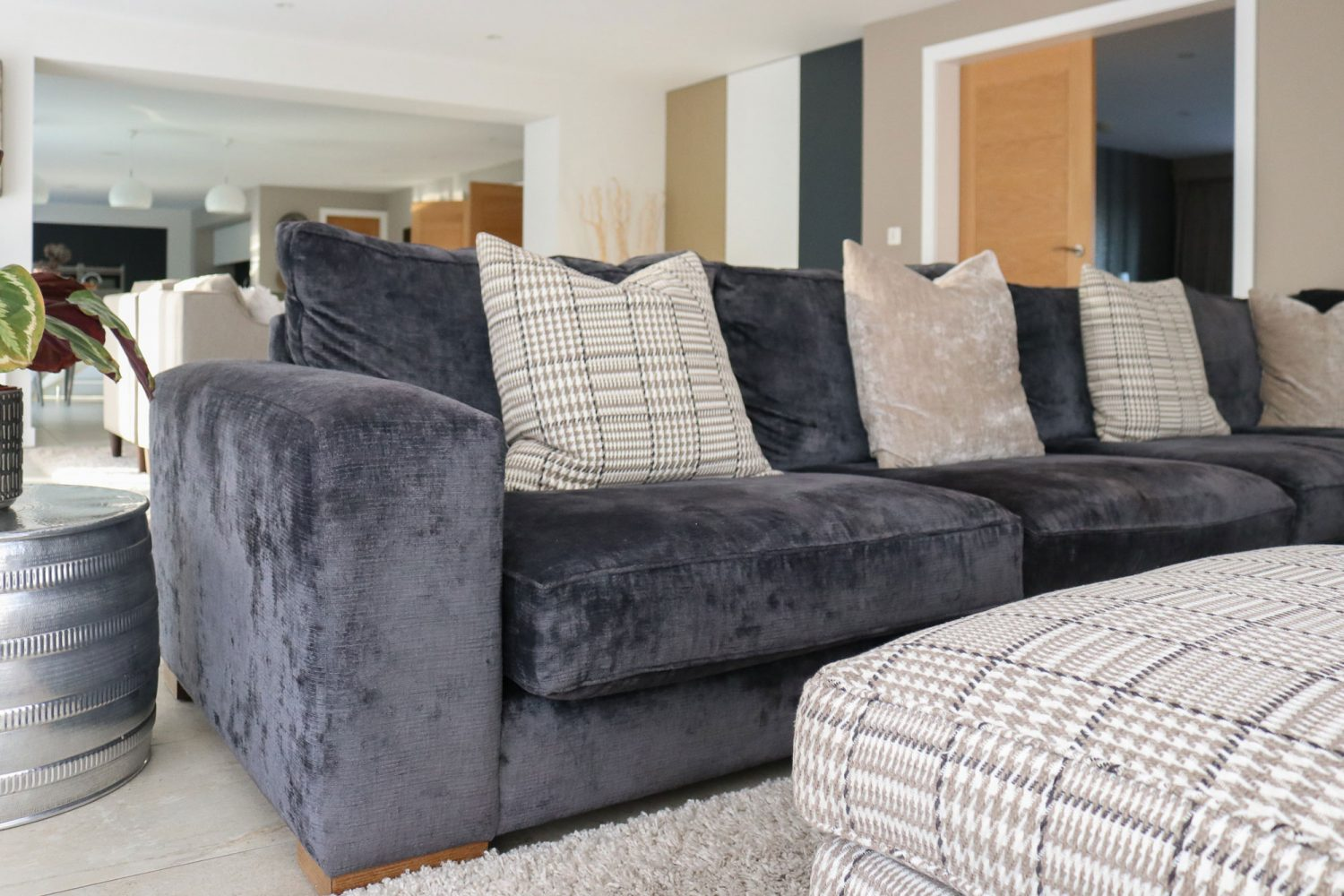 interior designer Liverpool, open plan living area