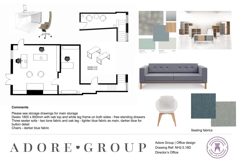 office interior design Liverpool