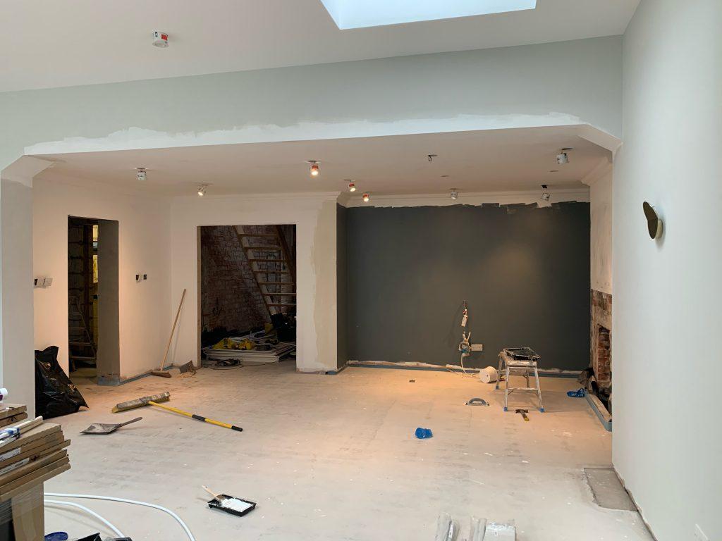 Natalie Holden Interiors, Open plan extension, wirral interior designer, Manchester interior designer, contemporary interior, project timeframe, timeframe planning, budget