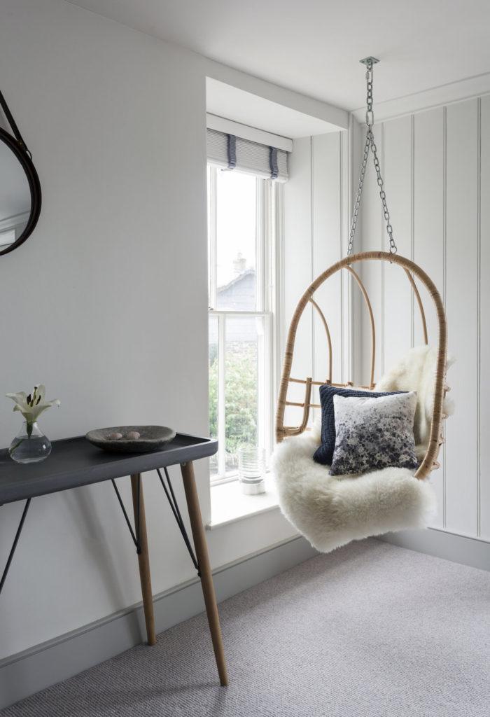 Holiday home renovation, interior design inspiration by Nicola O'Mara, via Pinterest