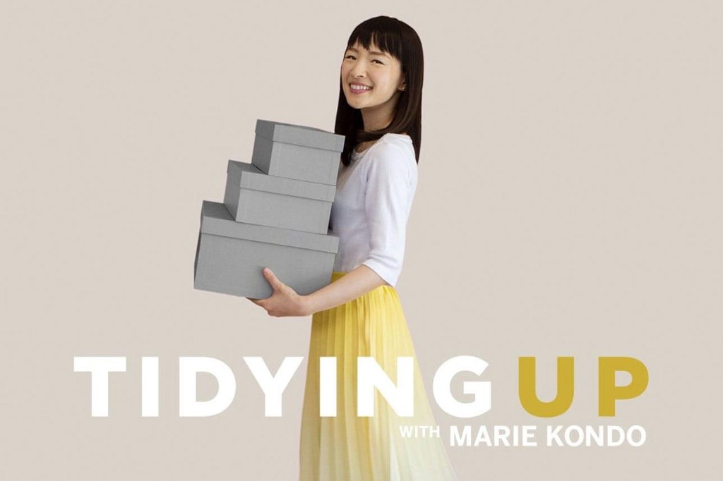 Best interior design shows, tidying up with Marie Kondo